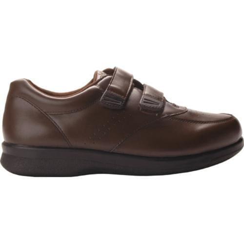 Men's Propet Vista Walker Strap Brown Leather