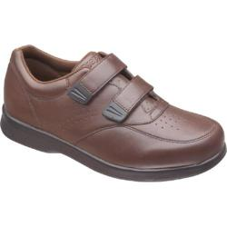 Men's Propet Vista Walker Strap Brown Leather