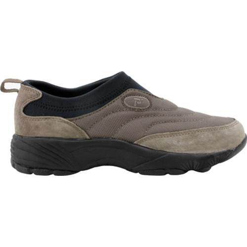 Men's Propet Wash & Wear Slip-on Nylon Gunsmoke/Black
