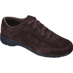 Women's Propet Washable Walker Suede Brownie