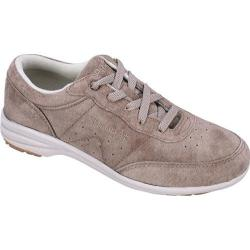 Women's Propet Washable Walker Suede Classic Taupe