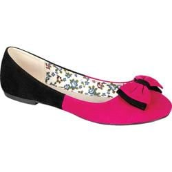 Women's Reneeze Daisy-03 Fuchsia/Black