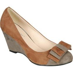 Women's Reneeze Dress-02 Camel/Grey