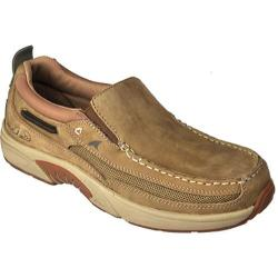 Men's Rugged Shark Bill Dance Casual Angler Gold Dust Nubuck Leather