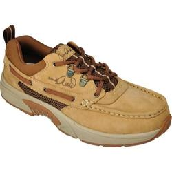 Men's Rugged Shark Bill Dance Pro Gold Dust Nubuck Leather