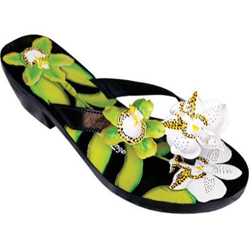 Women's Susan Mango Green Orchid Green