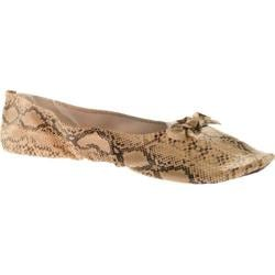 Women's Vecceli Italy FF-101 Beige Compressed Leather