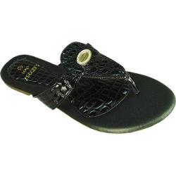 Women's Vecceli Italy SA-101 Black Compressed Leather