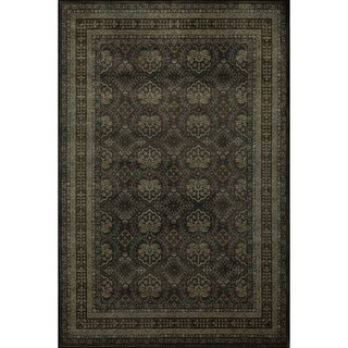 Mirage Diamonds Charcoal Rug
