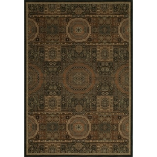 Mirage Mamluk Black Rug