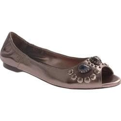 Women's Vince Camuto Kendra Gunmetal Metallic Leather