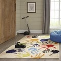 Momeni Lil Mo Fingerpaint Ivory Rug