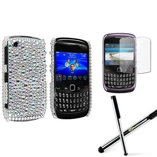 BasAcc Case/ Screen Protector/ Stylus for BlackBerry Curve 9300 3G