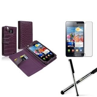 BasAcc Case/ Screen Protector/ Stylus for Samsung� Galaxy S2 i9100