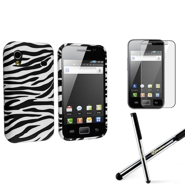 INSTEN Phone Case Cover/ Screen Protector/ Stylus for Samsung Galaxy Ace S5830