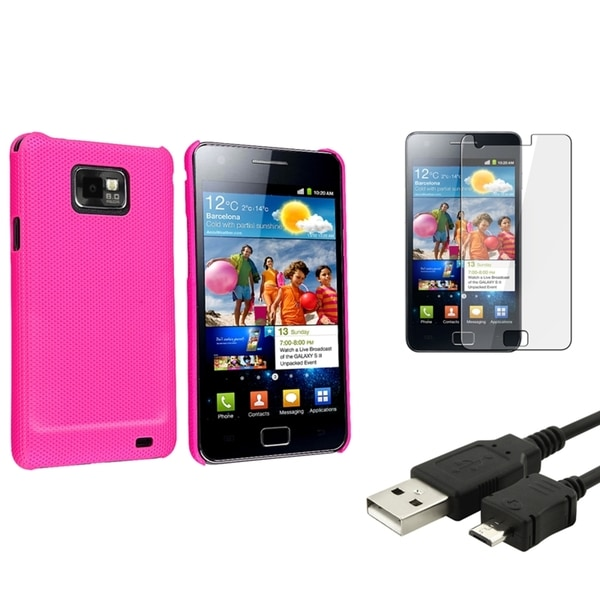 BasAcc Case/ Screen Protector/ Cable for Samsung© Galaxy S2 i9100