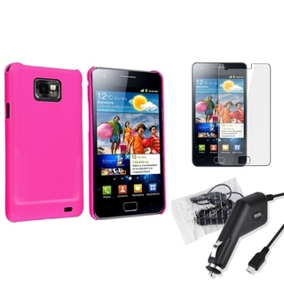 BasAcc Case/ Screen Protector/ Charger for Samsung� Galaxy S2 i9100