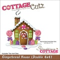 CottageCutz 'Gingerbread House' 4x4-inch Die Set