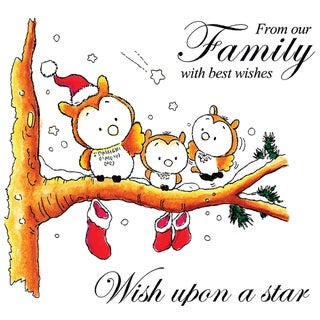 """Mullberry Wood EZMount Cling Stamp Set 4-3/4""""X4-3/4""""-Wish Upon A Star"""