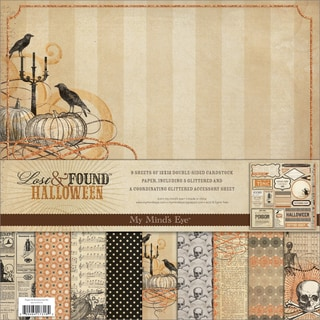 Lost & Found Halloween Paper & Accessories Kit 12