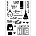 "Technique Tuesday Clear Stamps 4""X6""-Bright Idea"