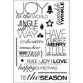 "Technique Tuesday Clear Stamps 4""X6""-Jingle All The Way"