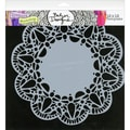 "Crafter's Workshop Templates 12""X12""-Deco Doily"