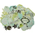 Chapter One Collectables Cardstock Die-Cuts 50/Pkg-