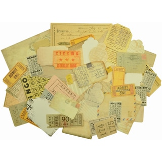 Timeless Collectables Cardstock Die-Cuts 50/Pkg-Tags