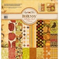 "Apple Cider Collection Pack 12""X12""-18 Double-Sided Papers + Sticker Sheet"