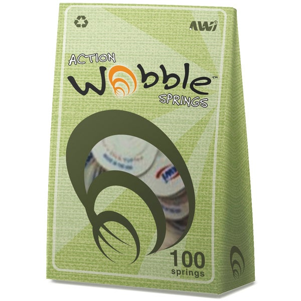 Action Wobble Spring 100/Pkg-