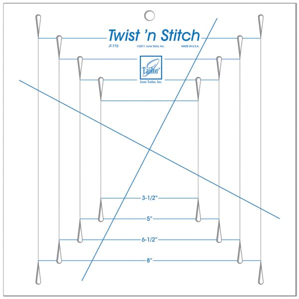 Twist 'n Stitch Ruler-