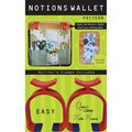 Notions Wallet-W/Clamps