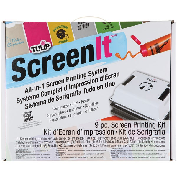 Tulip Screen-It Personal Screen Printing Machine