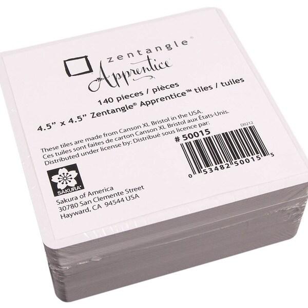 """Zentangle Apprentice 4.5""""X4.5"""" Tiles Refill Kit"""