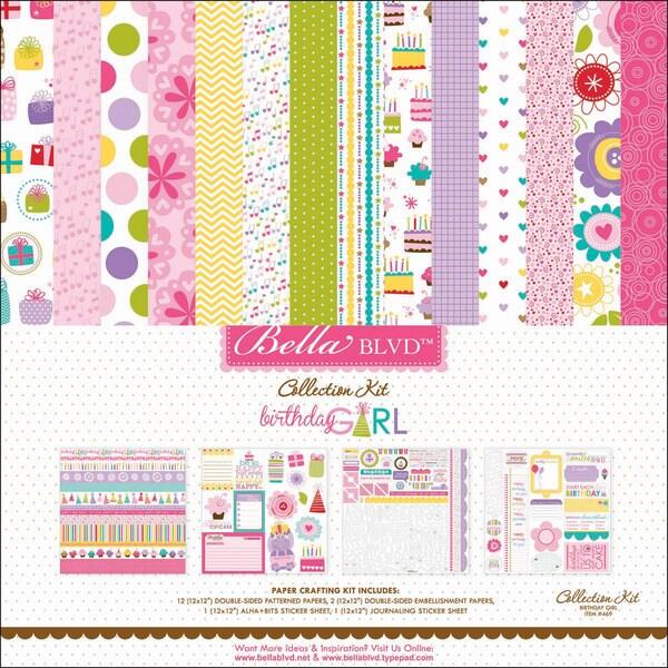 "Birthday Girl Collection Kit 12""X12""-"