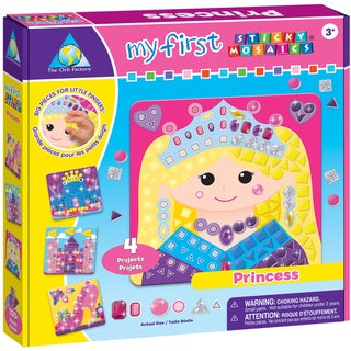My First Sticky Mosaics Kit-Princess