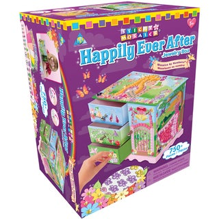 Sticky Mosaics Kit-Happily Ever After Jewelry Box