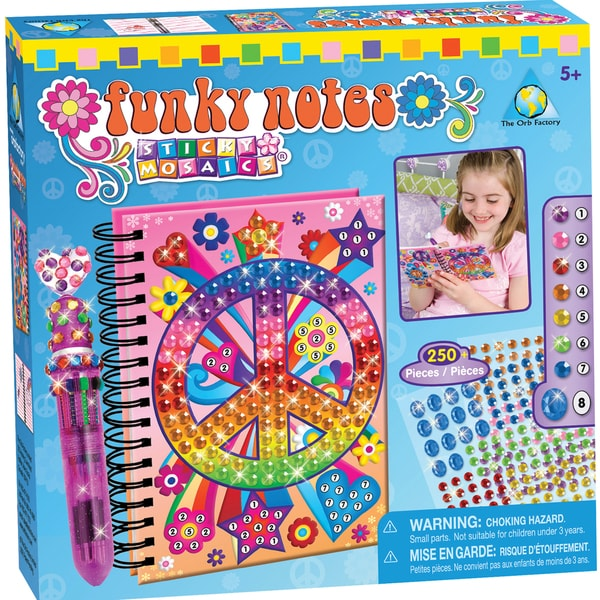 Sticky Mosaics Kit-Funky Notes