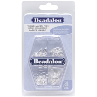 Findings Variety Pack 134/Pkg-Silver Plated