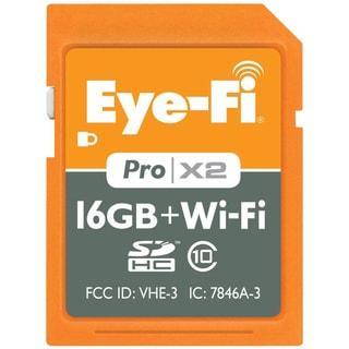Eye-Fi 16GB Pro X2 SDHC Class 10 Wireless Flash Memory Card