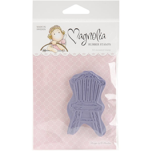 Magnolia Turning Leaves 'Old Swedish Chair' Cling Stamp