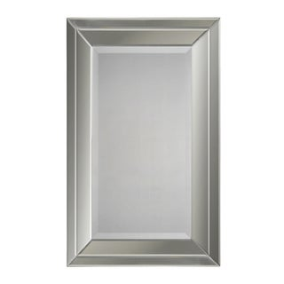 Double Bevel Framed Mirror