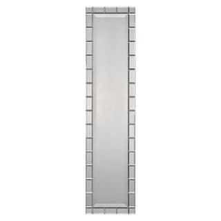 Silver Narrow Rectangular Mirror