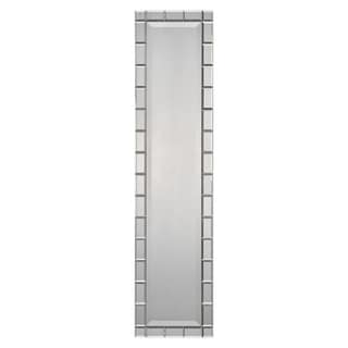 Silver Narrow Rectangular Mirror