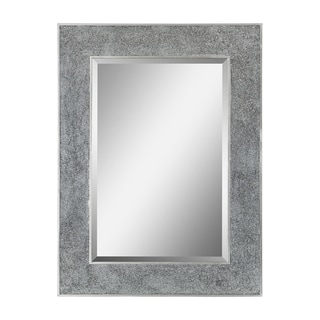 Helena Crushed Glass Frame Rectangular Mirror