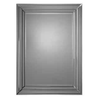 Beveled Frame Rectangular Mirror