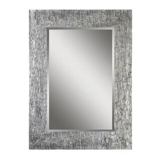Santa Fe Silver Rectangular Mirror