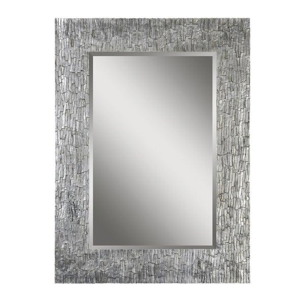 Ren Wil Santa Fe Silver Rectangular Mirror