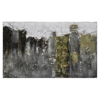 Claudia Guimond 'Fog City' Hand-painted Canvas Art